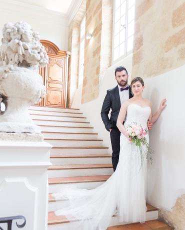 Mariage gastronomique au Chateau de La Pioline