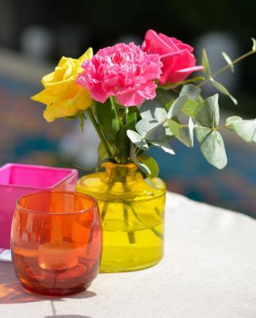 Compositions florales pour la décoration de votre événement privé