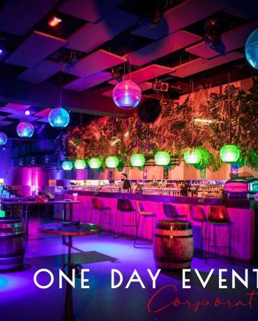 One day event, décoration événementielle d'événements professionnels