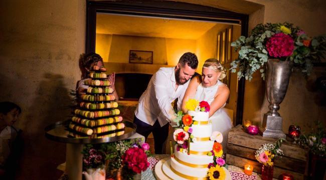 Un mariage à la décoration colorée au Gros Driou en Provence