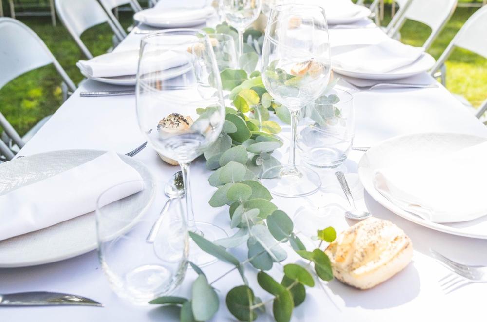 décoration anniversaire blanc