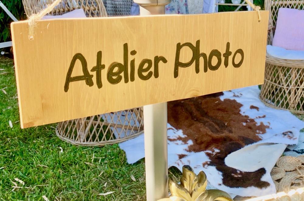 décoration photocall photobooth