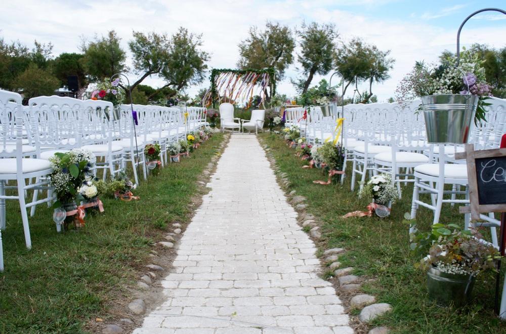 fauteuils mariés cérémonie laique