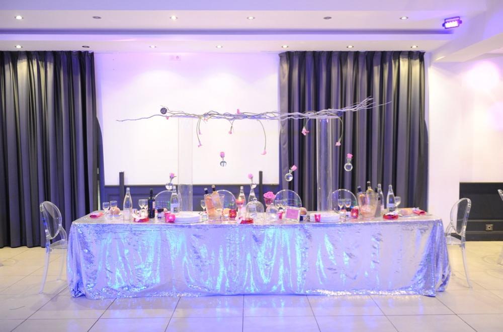 Décoration mariage soirée Le Riviera