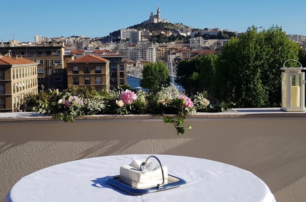 Se marier à l'Intercontinental Marseille