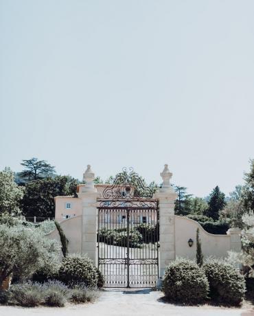 Le Chateau de Grand Boise à Trets, mariage en Provence
