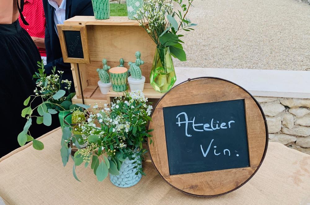 Décoration de buffets, cocktails, vin d'honneur du mariage