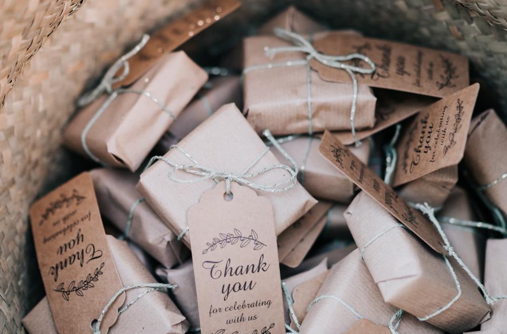 Idées cadeaux invités pour un mariage personnalisé