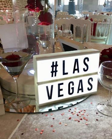 Thème Casino et Las Vegas, oser la couleur dans la décoration