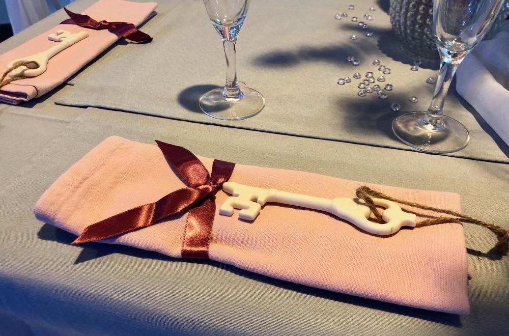 nappes de couleur décoration