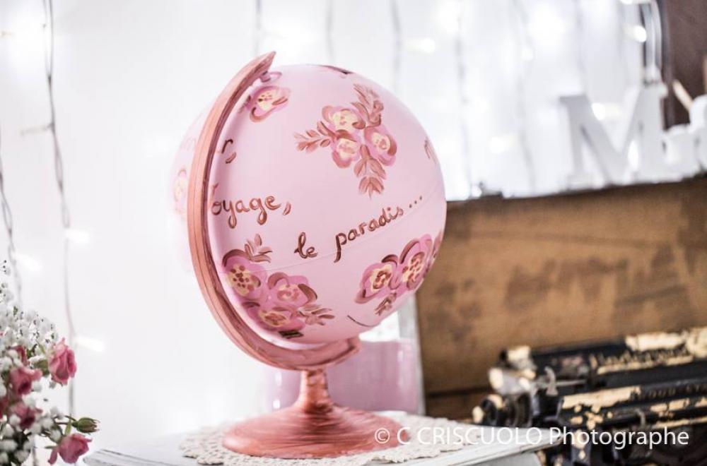mariage aix en provence blanc et rose