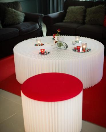 Lounge et Mobilier, décoration de soirées conviviales