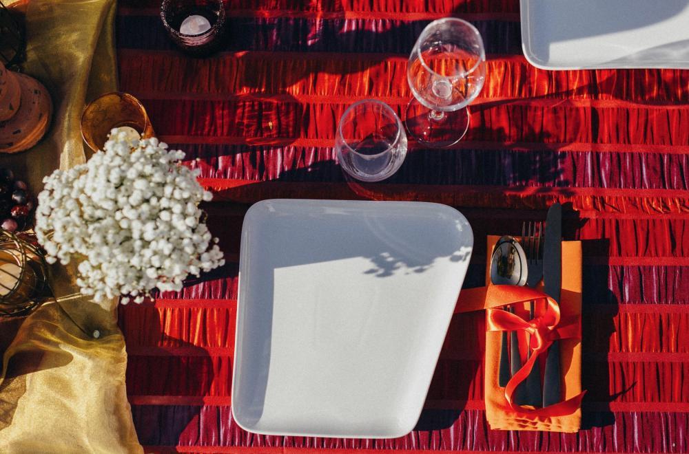 location de vaisselle, déco de table