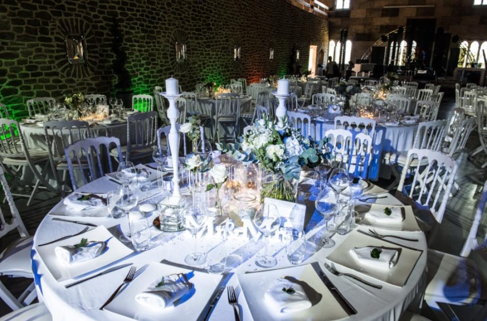 Mariage en blanc au Chateau de Roquefeuille