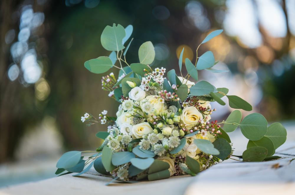 décoration mariage en hiver