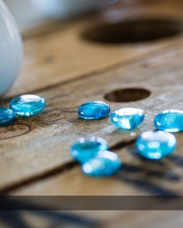 Décoration de mariages et soirées, thème Bleu turquoise