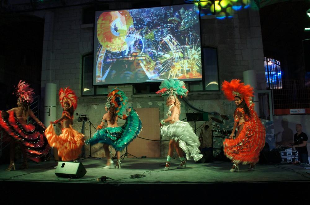 Scénographie et soirée sur le thème du Brésil