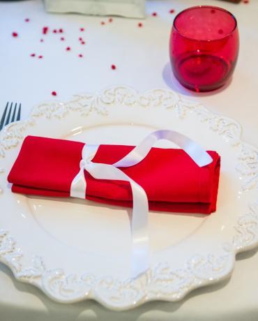 Décoration de mariages et soirées : déco thème ROUGE
