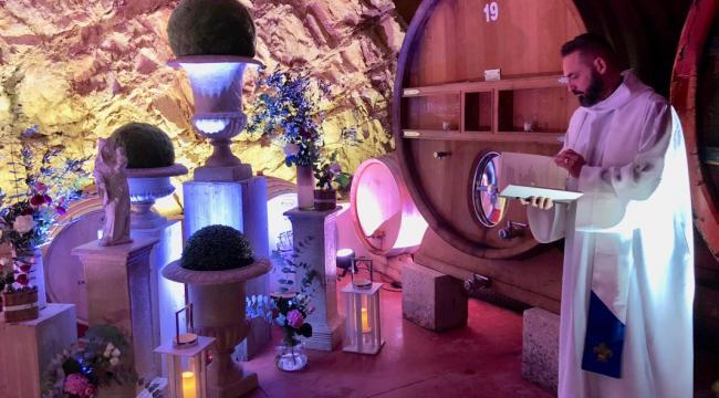 Pavillon Fregate, un mariage à la décoration bohème