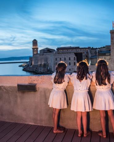 Le Fort Ganteaume à Marseille, vue magique sur le Vieux Port