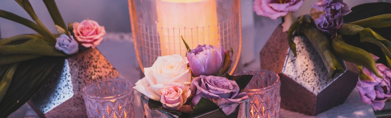 Bougies, lanternes, photophores, jolie ambiance
