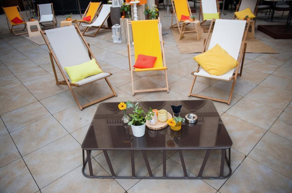 Lounge, salons, les chiliennes