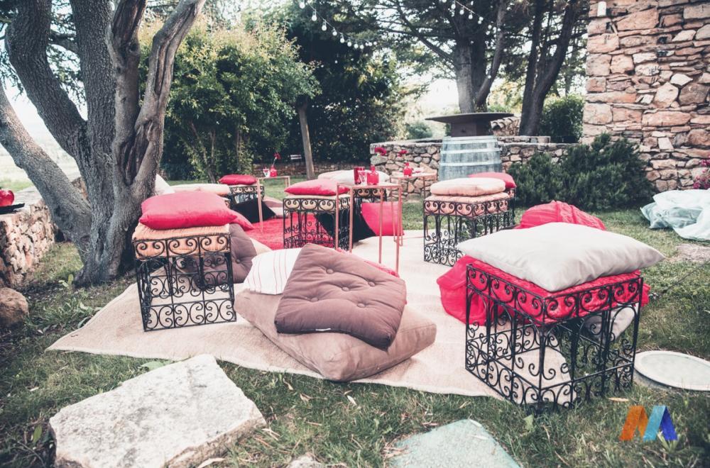 Mobilier Lounge oriental
