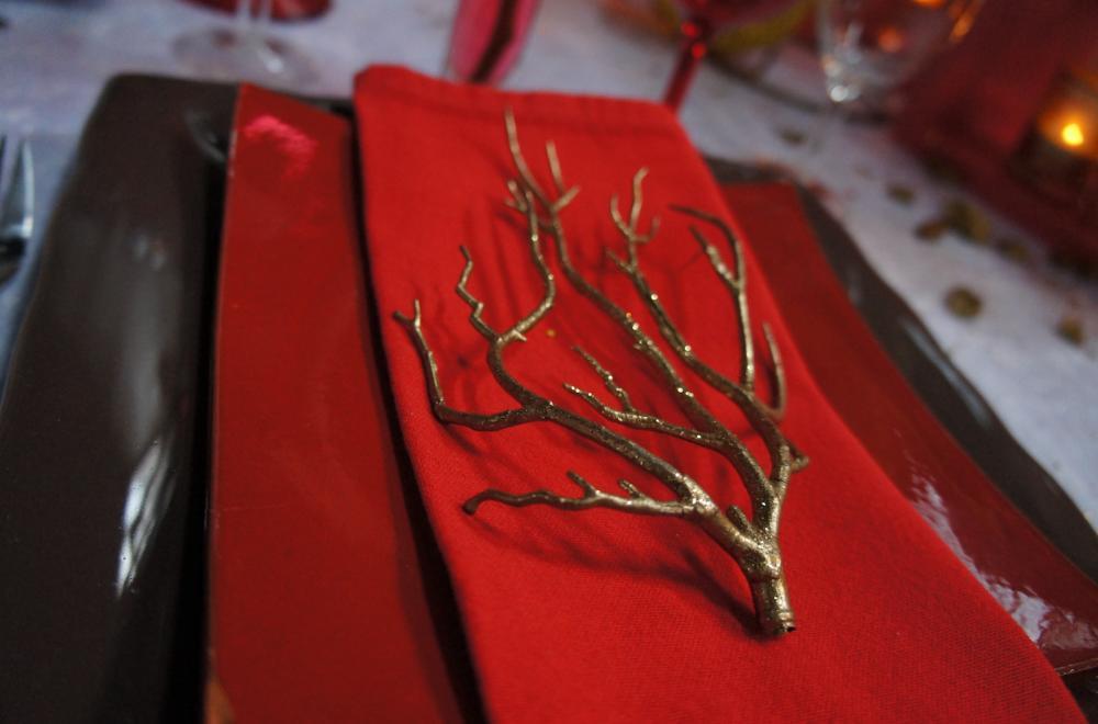 décoration serviettes