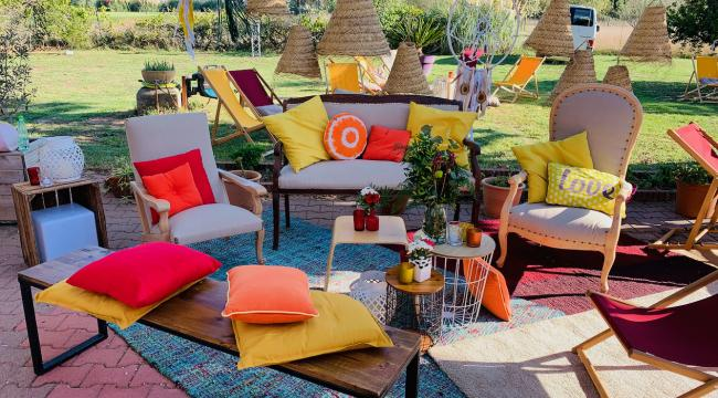 Tapis et moquettes, accessoires des espaces Lounge, Chill