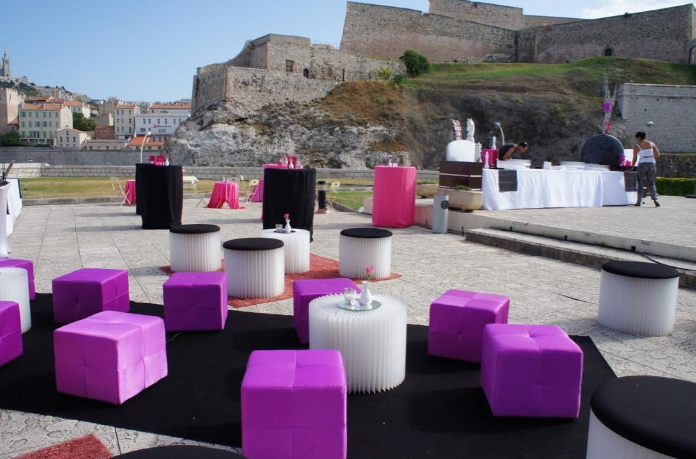 Le Fort Ganteaume mariage Marseille