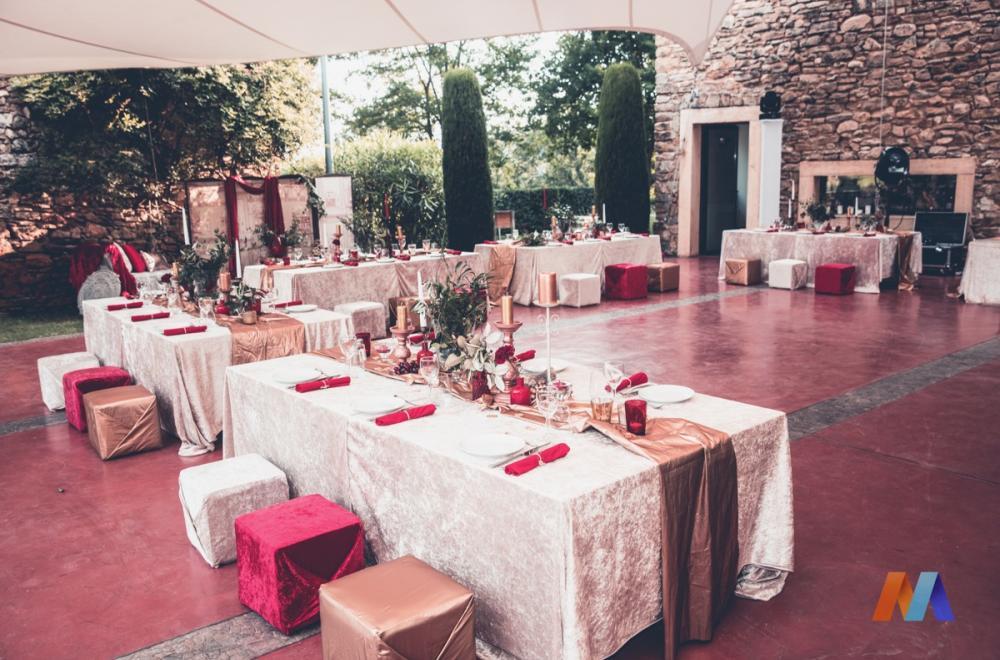 Un événement riche en couleurs, soirée anniversaire thème Rome Antique