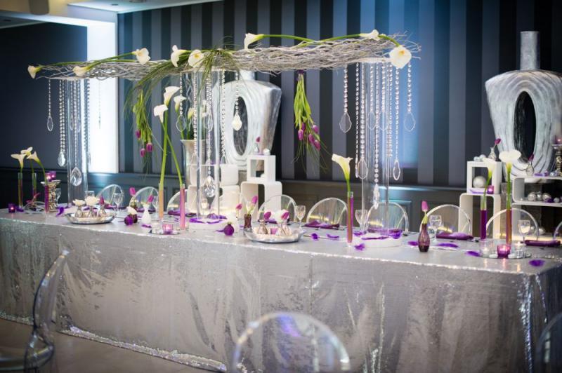 Célèbre Déco de la table d'honneur - Soirée ou Mariage Classique Marseille  OK86