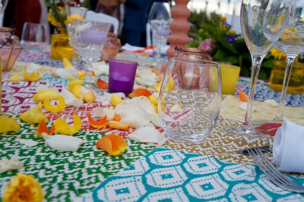D co de table pour un mariage th me gypsy blog one day event - Mariage a theme ...