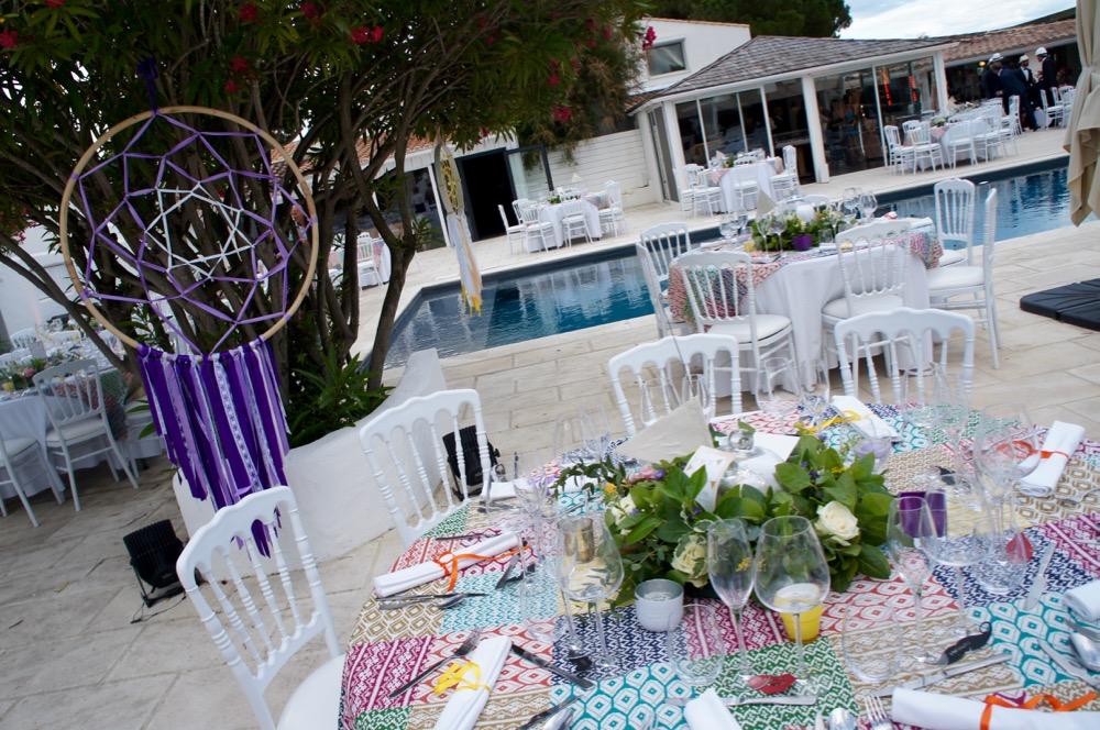 d co de table pour un mariage th me gypsy blog one day event. Black Bedroom Furniture Sets. Home Design Ideas