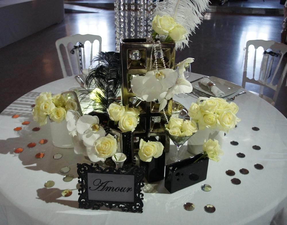 La table des mari s au chateau de roquefeuille blog one - La table marseillaise chateau gombert ...