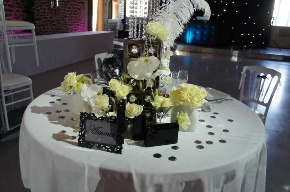La table des mari s au chateau de roquefeuille blog one day event - Table des maries ...