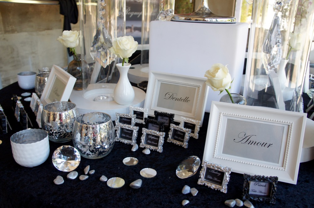 Th mes mariage soir e th me d co bling bling marseille - Magasin deco mariage marseille ...