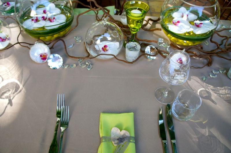 Deco table mariage nature - Decoration de table nature ...
