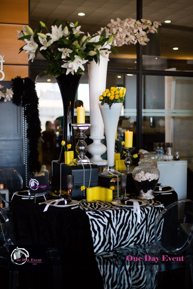 th mes d coration de mariages et soir es th me d co jaune. Black Bedroom Furniture Sets. Home Design Ideas