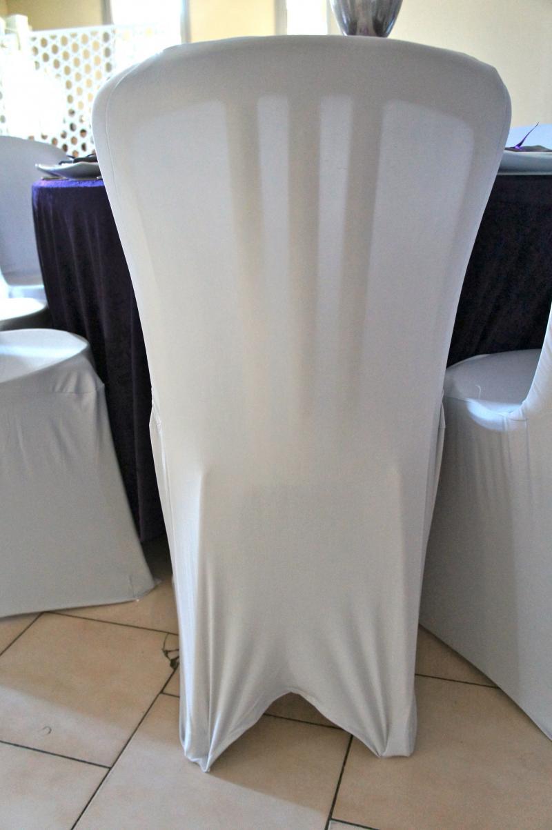 Location housses de chaises en lycra gris argent marseille - Location housse de chaise lycra ...